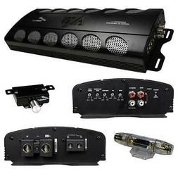 Audiopipe 1800w Class D Amplifier Overload Protection Remote