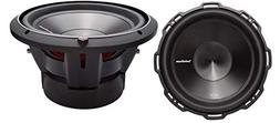"2) ROCKFORD FOSGATE P3D2-10 10"" 1000W 2-Ohm DVC Car Audio Su"