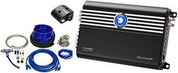 Planet Audio BB2500.1 2500W Mono Amp with Raptor PKBL3 4AWG
