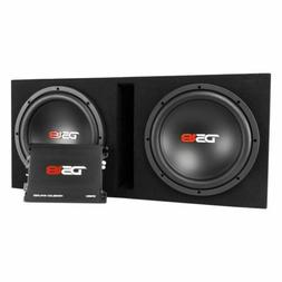"""DS18 BP212 1300W Complete Bass Package with Two 12"""" Subs, Mo"""