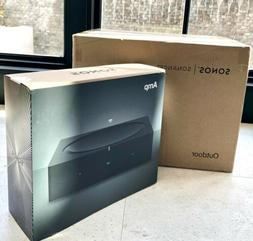 SONOS BUNDLE - ALL NEW OUTDOOR SPEAKERS    +   1 SONOS AMP A