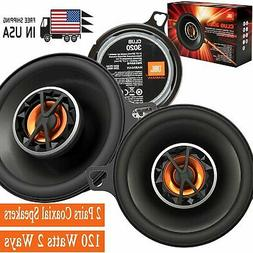 "JBL Club 6420 4""x6"" Coaxial Speakers + Sound Dampening and R"