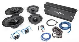"Skar Audio 6.5"" and 6""x9"" Complete Speaker Upgrade Package w"