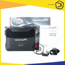 Pioneer GM-D8601 Mono 1600W Class-D Car Amp, with Bass Boost