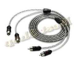 JL AUDIO XD-CLRA1C2-18 Car Amplifier 2 Channel RCA Cable 18f