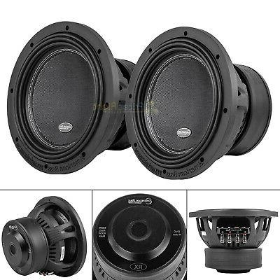 10 subwoofers 800w max dual 4 ohm