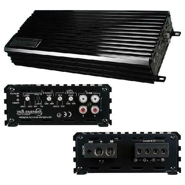 4000W Max Class D Amplifier Car Audio Stereo Amplifier For S