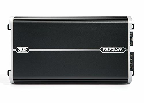 "Kicker Bass Package 43DCWR122 12"" CompR Loaded Enclosure, DXA 1500 Watt Amplifier, Wiring"