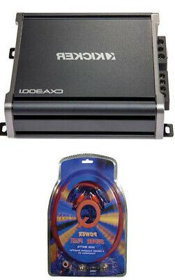 Kicker 43CXA3001 600 Watt MONO Class D Car Audio Amplifier A