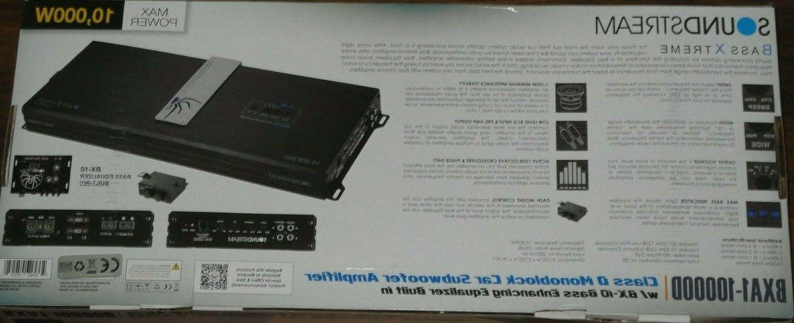 SOUNDSTREAM BXA1-10000D MONOBLOCK CAR CLASS AMP AMPLIFIER BX-10