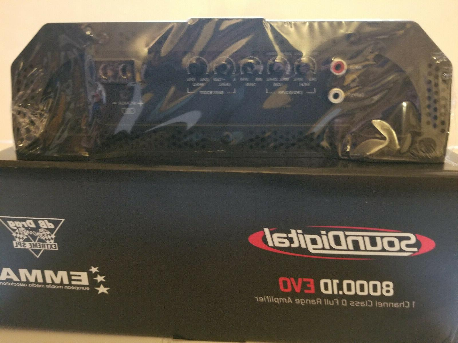SOUNDIGITAL EVO CLASS D 8000 WATT 1-OHM SHIPPING