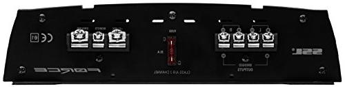 Sound 1600 2 8 Ohm Stable Class Range, Amplifier with Remote Subwoofer Control