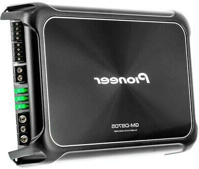 Pioneer GM-D9705-5-Channel Class Amplifier Wired Bass Boost Remote
