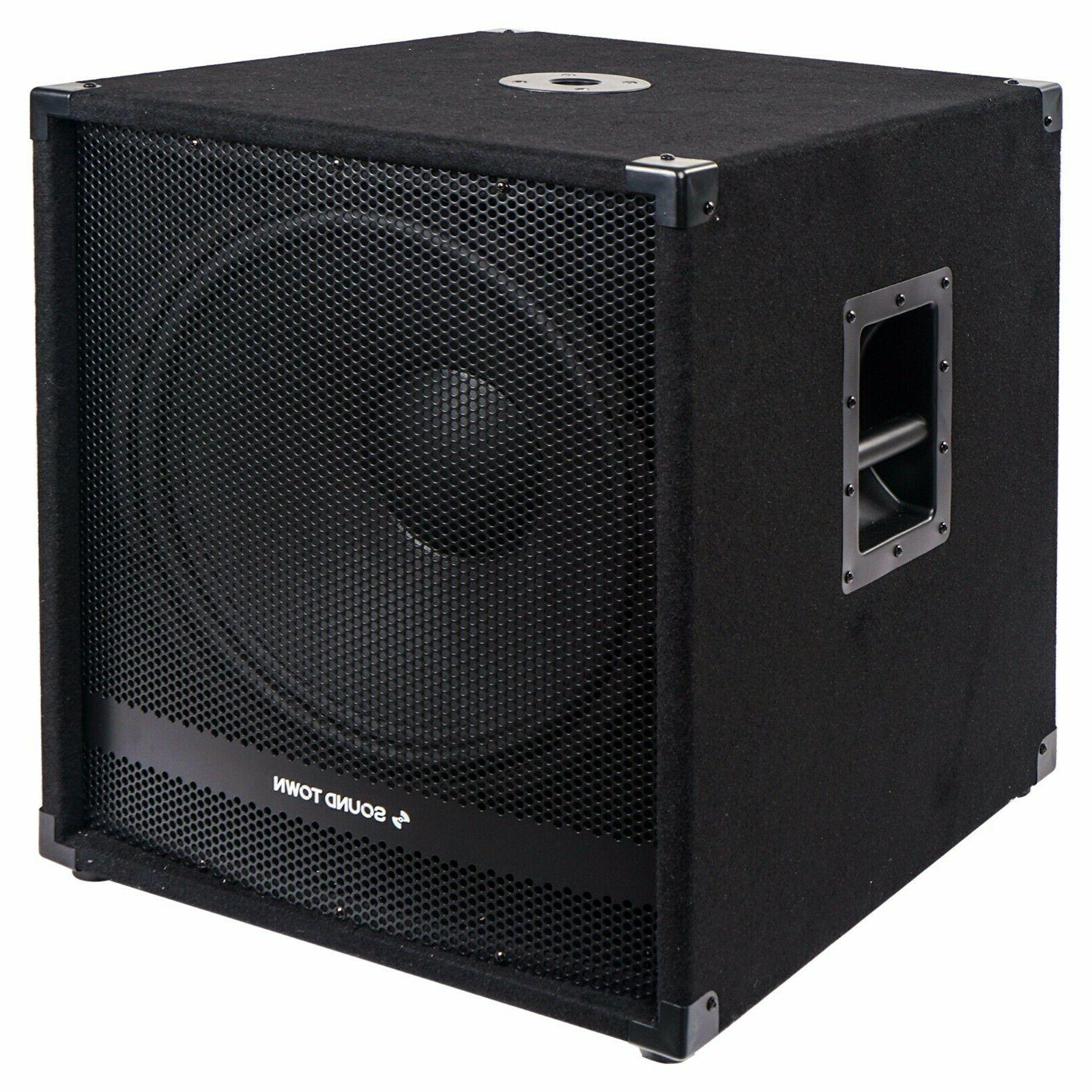 metis 2400w 18 powered subwoofer w class