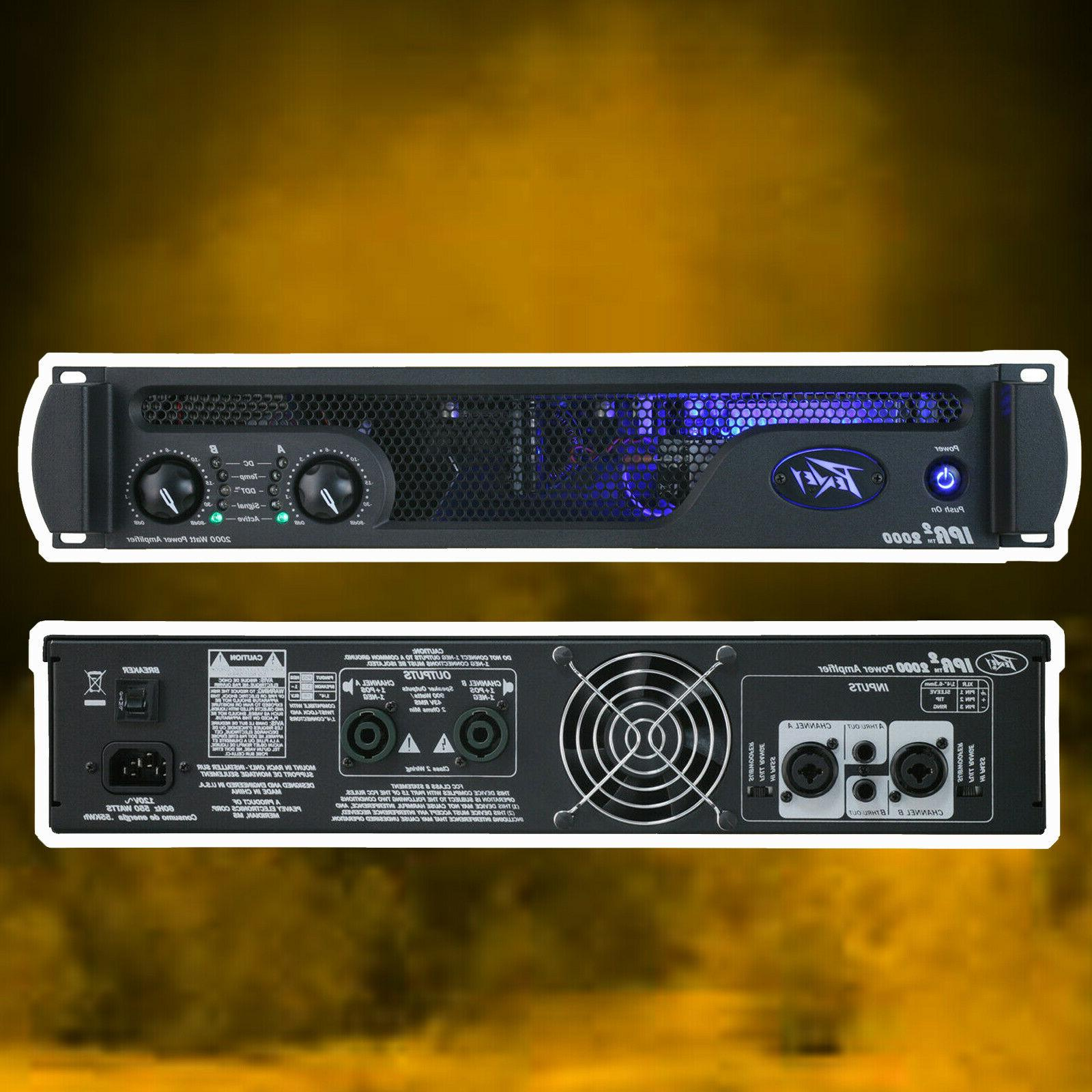 NEW PEAVEY IPR2-2000 2-Channel for Audio
