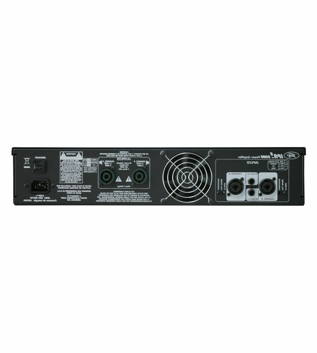 NEW 2200W 2-Channel Class-D Powered Amplifier for