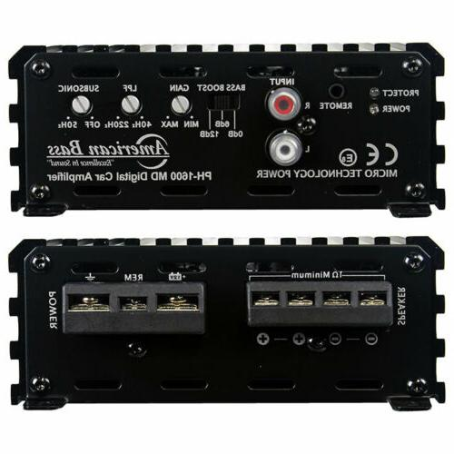 NEW PH1600MD Amplifier Micro-Technology