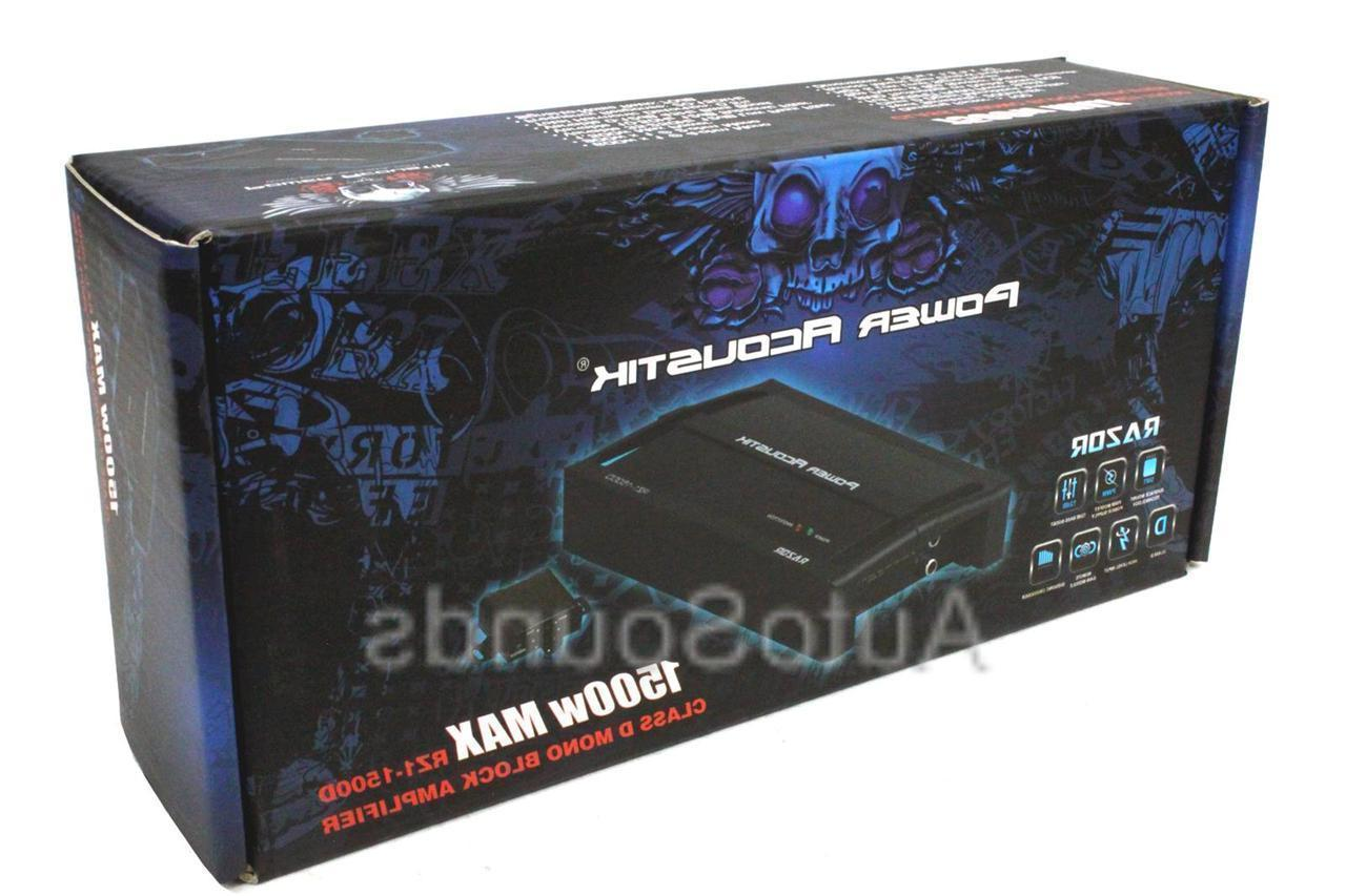 Power Acoustik 1500 Watt Monoblock D Car