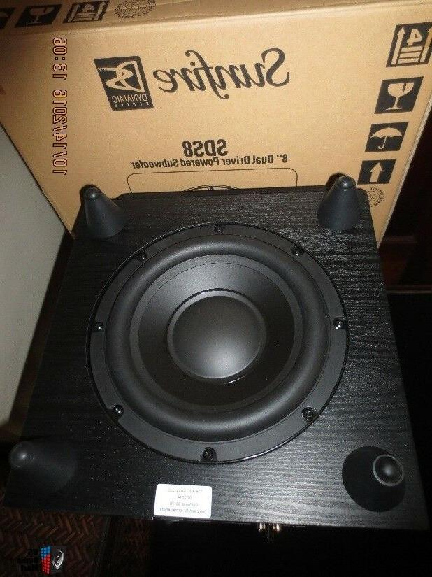 sds8 8 dual driver powered subwoofer 200w