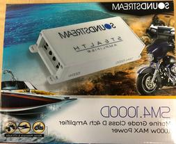 New motor cycle SOUNDSTREAM ST4.1000D 1000W MAX 4 CHANNEL AM