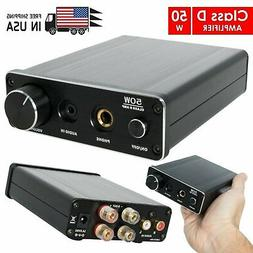 New Class D Amp DAC with Stereo Amplifier 50W, Powerful HiFi