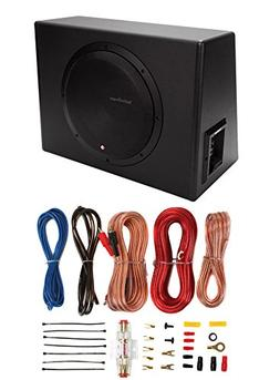 "Rockford Fosgate P300-12 12"" 300W Sealed Powered Subwoofer S"