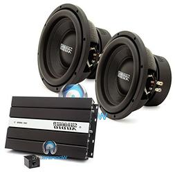 "pkg Pair of Sundown Audio E-10 V.3 D4 10"" 500W RMS Dual 4-Oh"