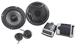 "Pair Rockville RV65.2C 6.5"" Component Car Speakers 750 Watts"