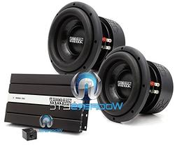 "pkg Pair of Sundown Audio SA-8 V1.5 D4 8"" Dual 4-Ohm SA V1.5"