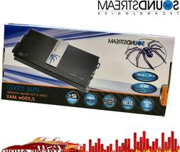 PN41000D Soundstream Small Space 1000 Watt 2-Ohm Stable 4 Ch