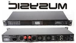 MUSYSIC Professional 2 Channel 8500 Watts D-Class 1U Power A