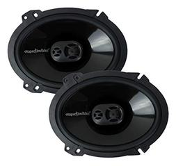 Rockford Fosgate Punch P1683 6 x 8-Inches  Full Range 3-Way