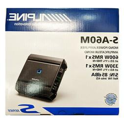 Alpine S-Series Mono Class D Amplifier S-A60M