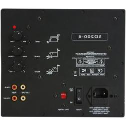 Yung International Yung SD200-6 200W Class D Subwoofer Plate