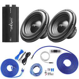 "Skar Audio  SDR-12 D4 1,200 Watt Max Power 12"" Subwoofers wi"
