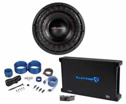 """American Bass XFL-1044 2000w 10"""" Competition Subwoofer+Mono"""