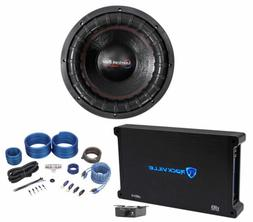 """American Bass XFL-1244 2000w 12"""" Competition Subwoofer+Mono"""